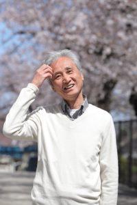 桜丘中学の前校長・西郷孝彦さん