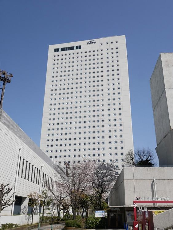 グループで都内最大客室数を誇る「アパホテル両国駅タワー」