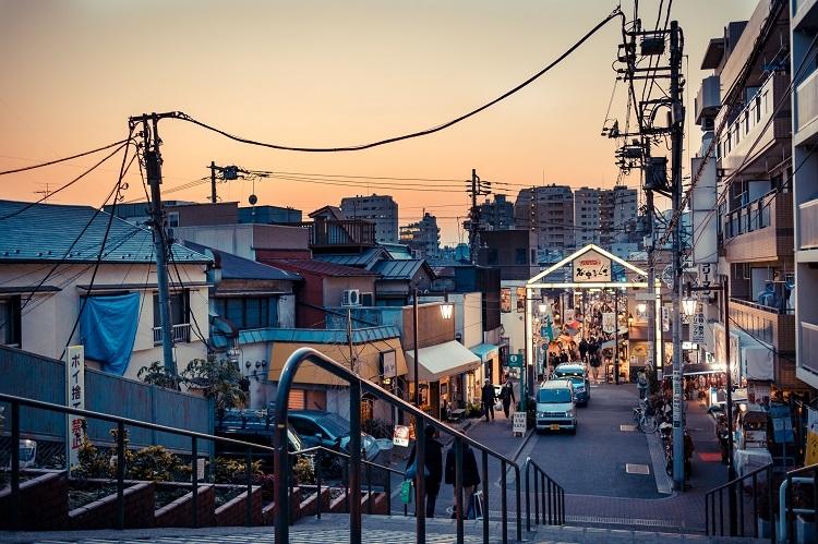 """""""谷根千""""の一角、千駄木は山手線内でも安く住める街のひとつ"""