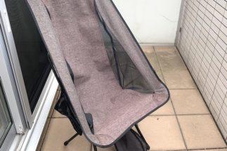 アウトドア用の椅子を置くだけで、ベランダもかなり快適になるという