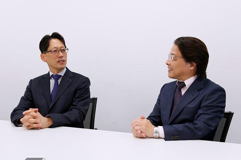 林 雅巳氏×宗正 彰氏 対談風景