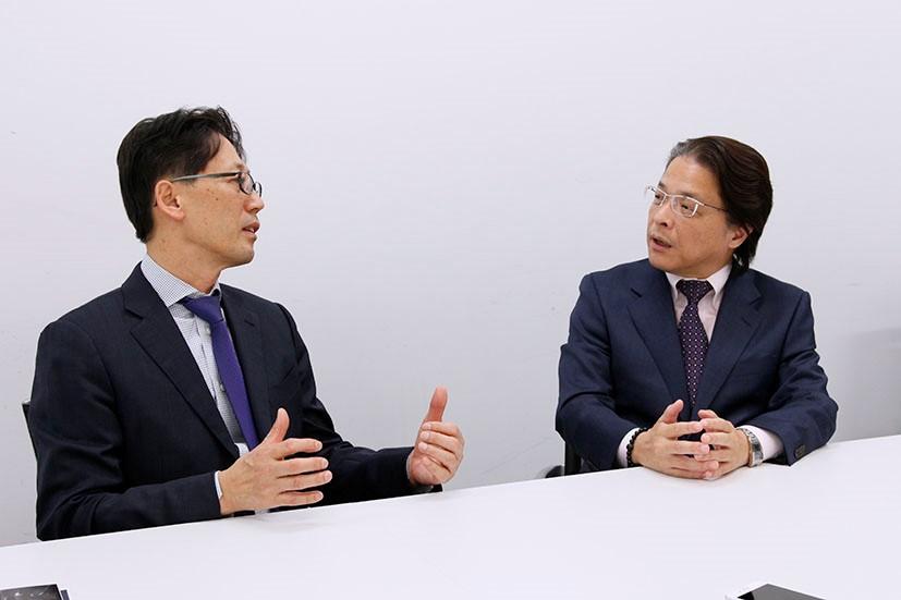 林 雅巳氏×宗正 彰氏 対談風景2
