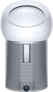 寝室、台所などへ持ち運び簡単な小型・軽量タイプの空気清浄扇風機『空気洗浄パーソナルファンピュア クール ミー(ダイソン)』