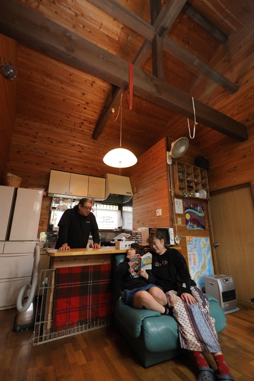 細野さん一家は、移住して、健康と気持ちのゆとりを得た