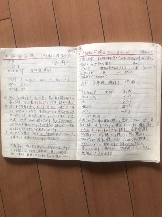 梅宮辰夫さんが闘病中に作成したレシピ本の中身