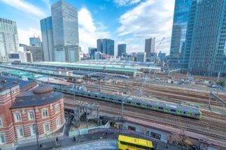 """""""東京の玄関""""である東京駅には様々な路線が通っている"""