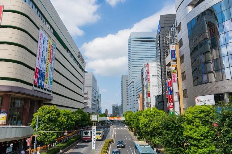 「住みたい街ランキング(関東)」で4位に入った大宮駅の駅前