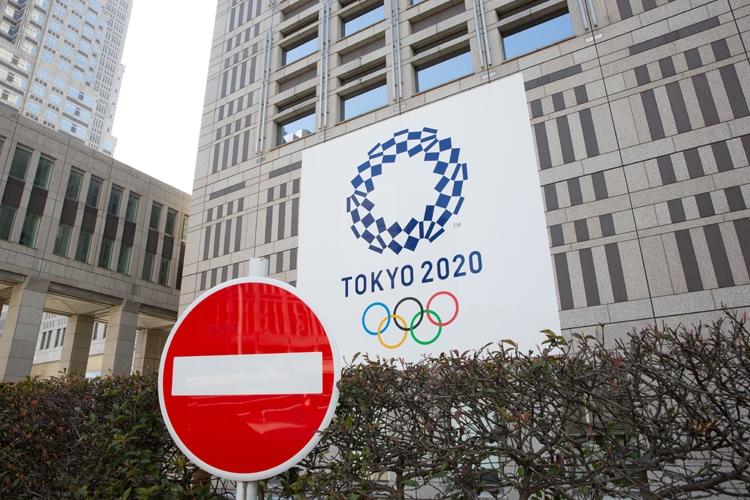 東京五輪の先行きにスポンサー企業もやきもき(SipaUSA=時事)