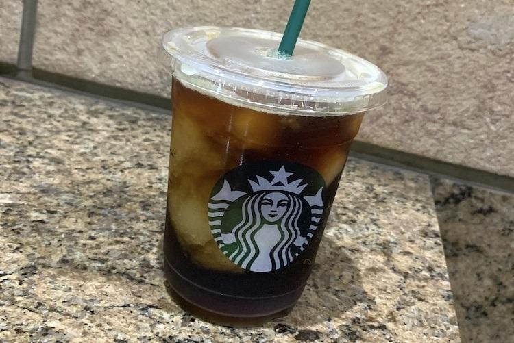 スターバックスコーヒー『コールドブリュー コーヒー フローズンレモネード』