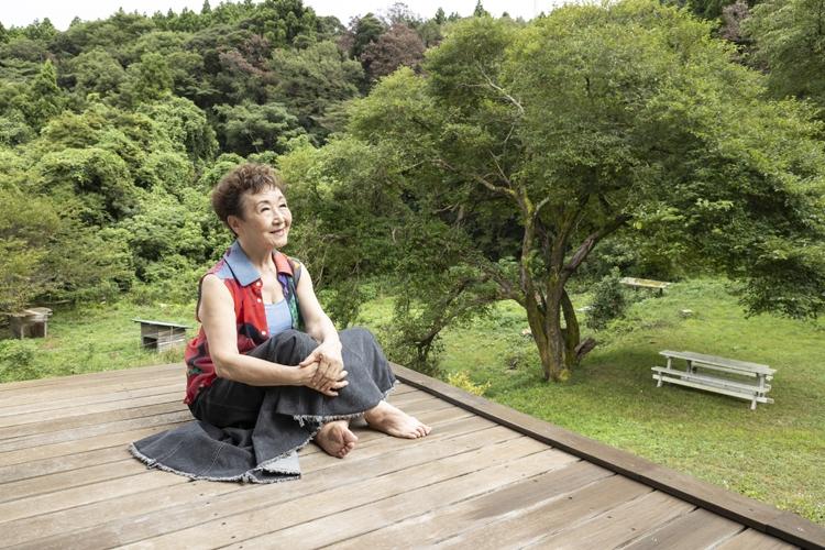 千葉にある「鴨川自然王国」に居を構える加藤登紀子