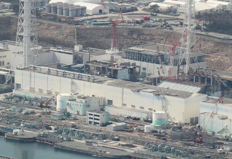 東電の財政悪化を招いた福島第一原発(時事通信フォト)
