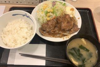 松屋と吉野家の「豚の生姜焼き定食」、肉の大きさも味も全然違う!