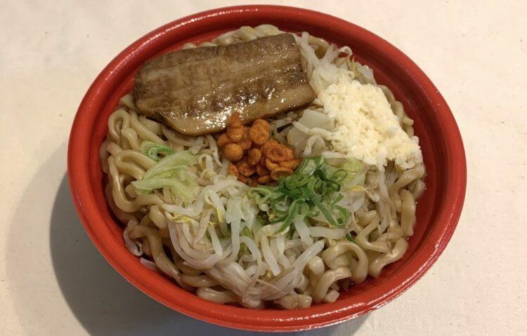ファミリーマート『千里眼監修 濃厚マシマシラーメン(ニンニク醤油)』