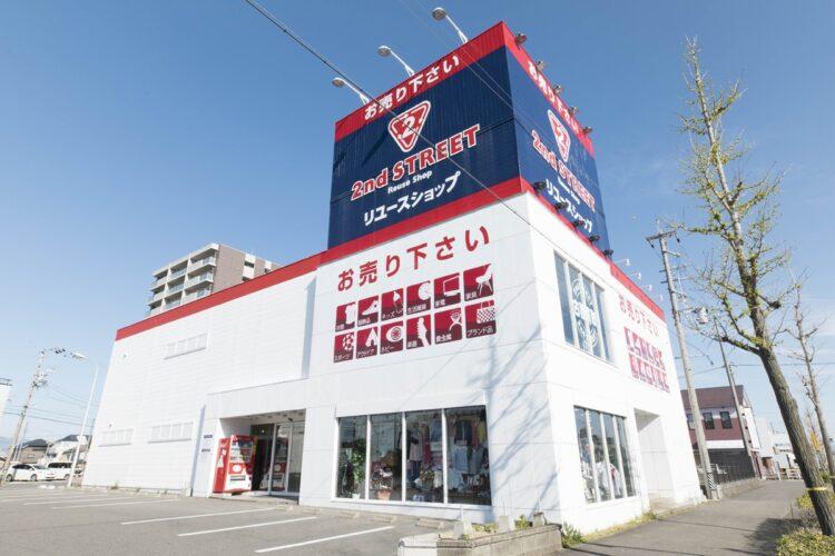 約700店舗展開するセカンドストリート