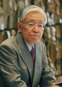 2020年1月に就任したNHK前田晃伸会長(時事通信フォト)