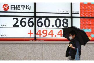 欧米より日本市場の強さが際立っている(時事通信フォト)