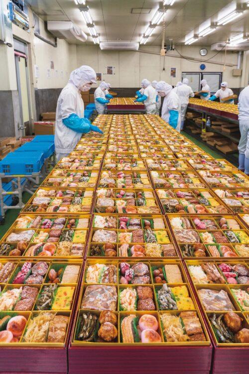 「博多久松」は冷凍おせちだけで年間20億円超を売り上げるという