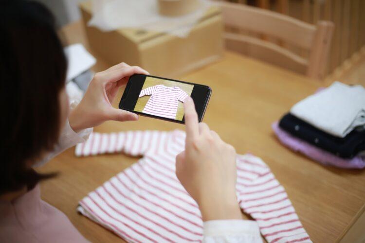 フリマアプリ出品はタイトルと説明文の工夫で、売れ行きが大きく変わるという(Getty Images)