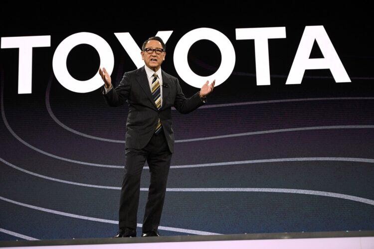 自動車業界の地殻変動に日本の自動車メーカーはどう対応していくのか(写真/AFP=時事)