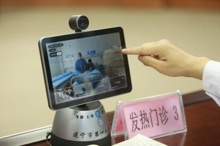 オンライン医療サービスの拡大が世界に破壊的イノベーションを起こす?(四川省。Getty Images)