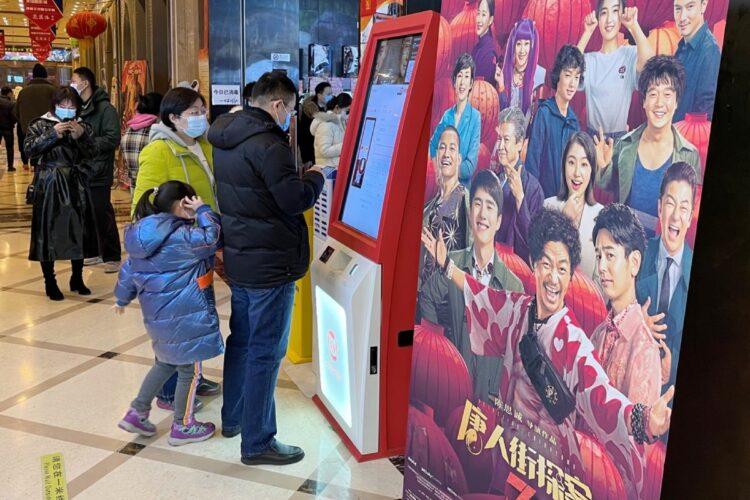 長澤まさみ、浅野忠信らが出演する『唐人街探案3』が中国で大ヒット中(北京。時事通信フォト)