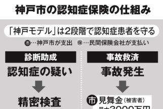 神戸市の認知症事故救済制度の仕組み