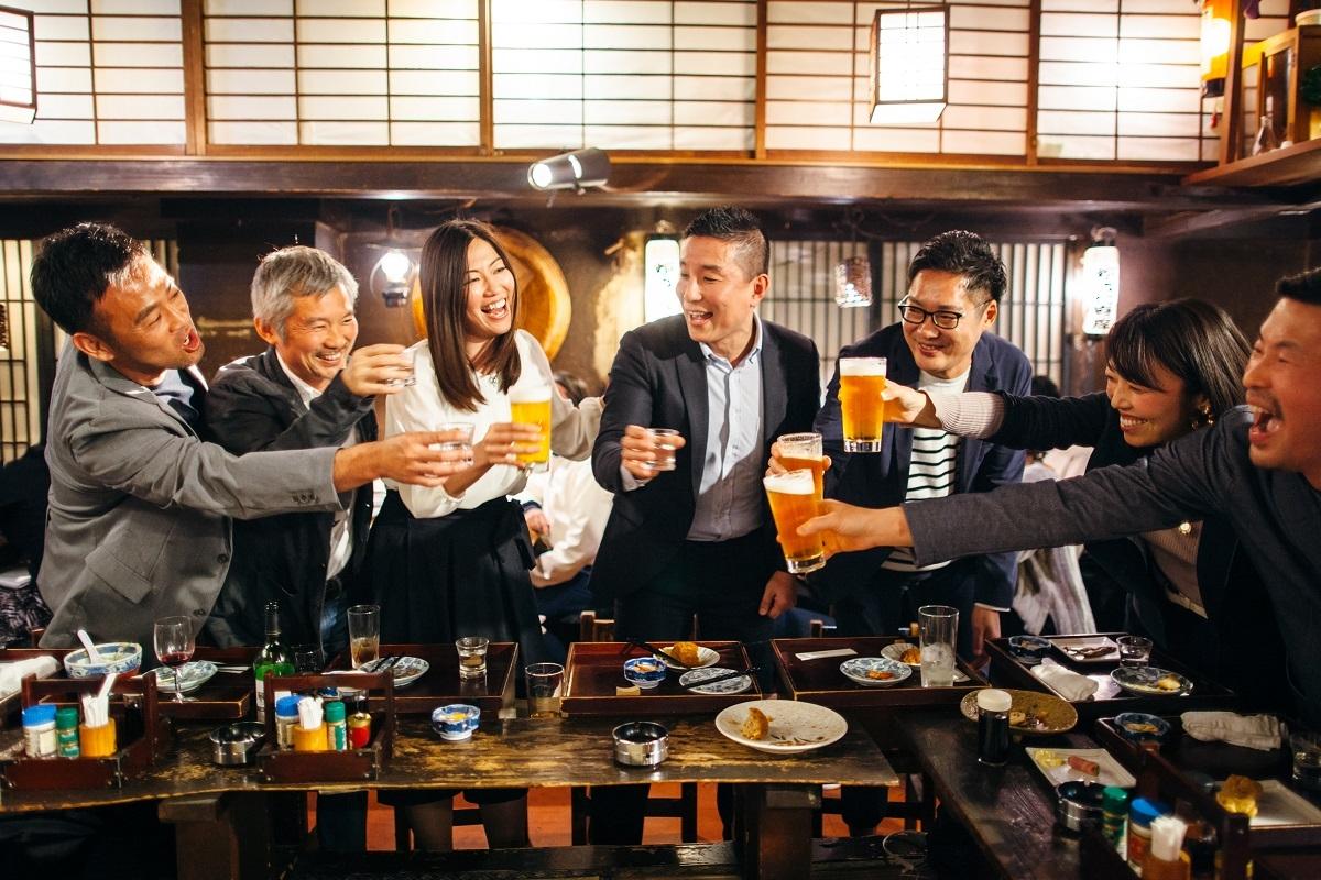 飲み会や季節行事の自粛に内心ホッとする人たちは多い(写真はイメージ。Getty Images)
