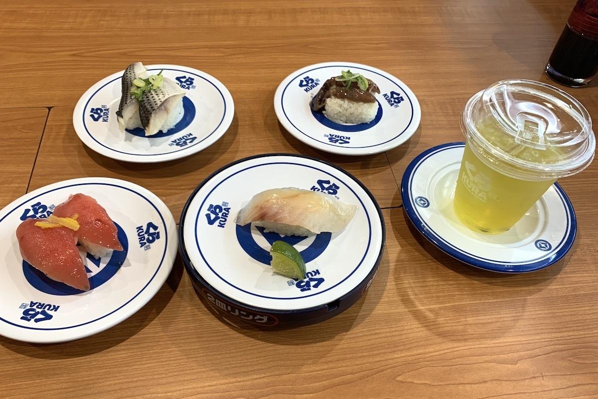 「スマートくら寿司」で1皿110円(税別)の寿司を堪能