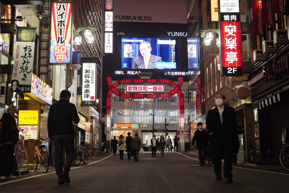 2度の期間延長を経て解除された緊急事態宣言だったが…(新宿歌舞伎町。時事通信フォト)
