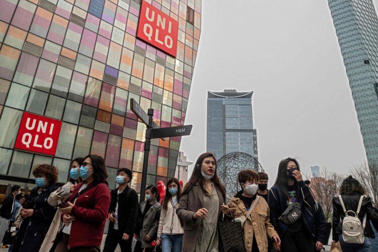 ウイグル問題を巡っては日本企業の間でもスタンスが異なる(写真/AFP=時事)