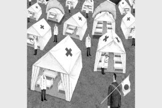 諸外国と日本のコロナ対策は何が違うのか(イラスト/井川泰年)