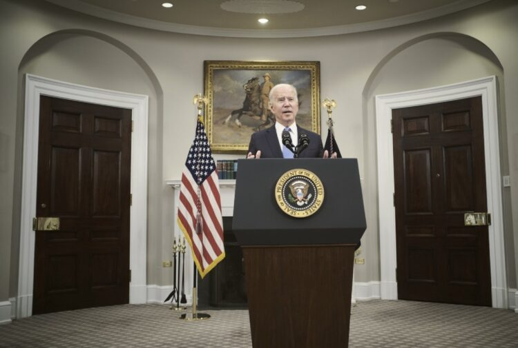 バイデン大統領は「電気自動車開発で中国に負けない」と発言しているが…(Getty Images)