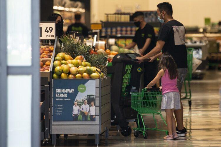 経済活動が再開するにつれて米国の物価も大幅に上昇(写真/EPA=時事)