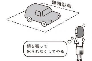 私有地への無断駐車に腹を立て、鎖で出られなくしたらどうなるのか