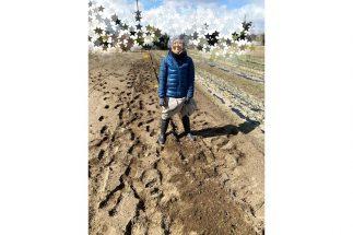 浜松に移住して、自然栽培の野菜作りを学び中の熊谷真実