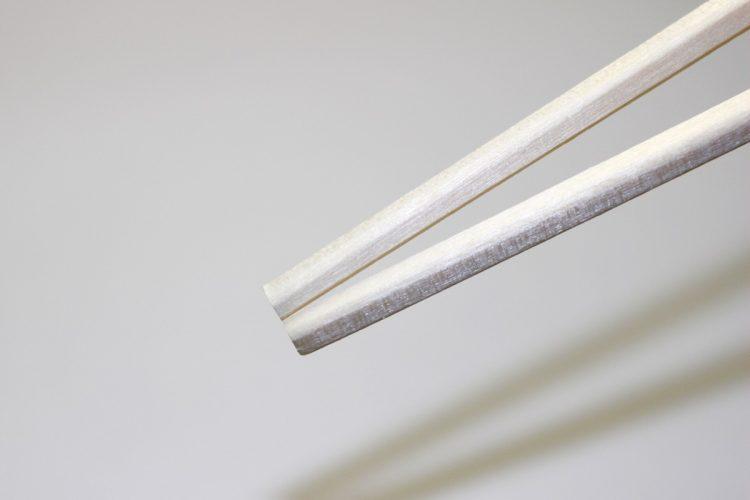 「反エコ」の象徴になっている割り箸