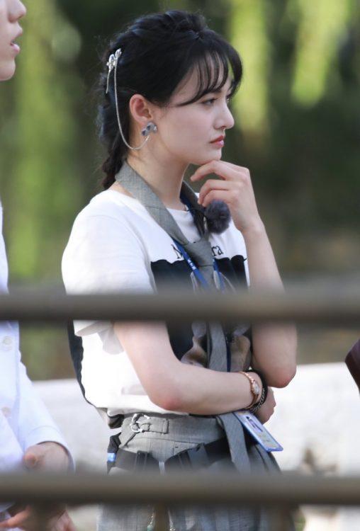 50億円の支払い命令が出された中国の人気女優・鄭爽(Imaginechina/時事通信フォト)