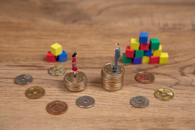 平等な社会をめざしたがために格差が拡大する現実(イメージ)