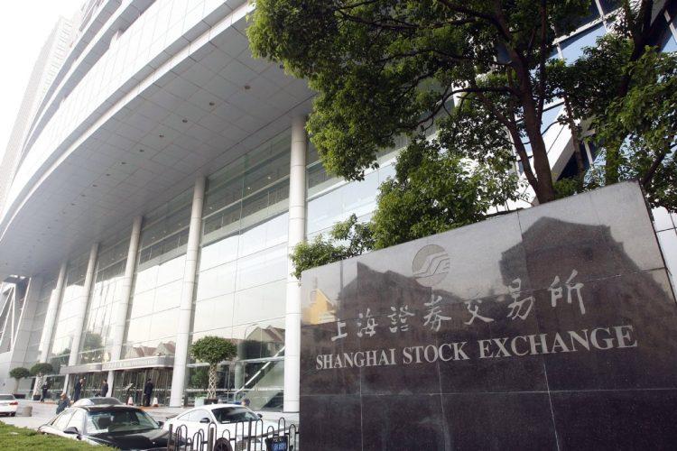 北京に新設される「第3の証券取引所」の役割は?(写真は上海証券取引所。Imaginechina/時事通信フォト)