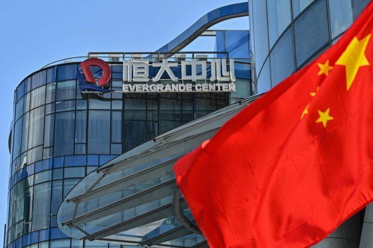 日本株を取り巻く「悪材料」は中国恒大集団の債務問題だけではない(写真/中国・上海。AFP=時事)