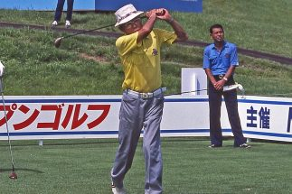 晩年はゴルフに夢中だったという本田宗一郎氏(撮影/山本皓一)